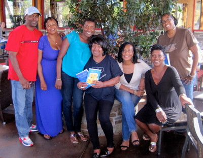 Members of Turning Pages Book Club.  Thanks for having me!